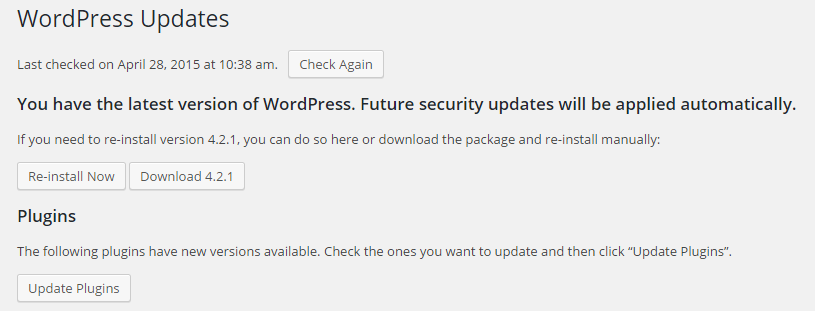 Update WordPress Automatically Without FTP